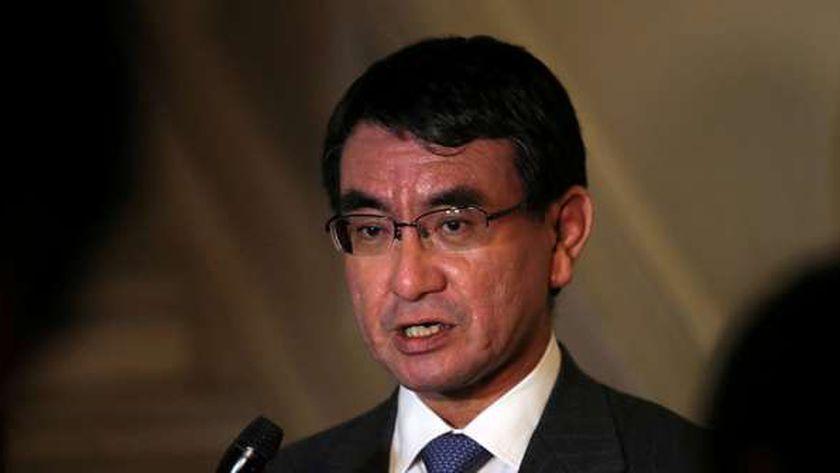 وزير الدفاع الياباني تارو كونو