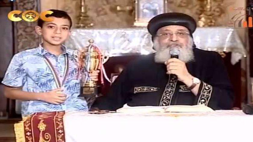 البابا والطفل كيفين