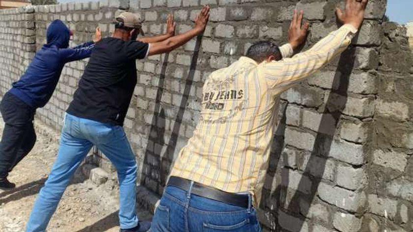 إزالة المباني المخالفة بالإسكندرية