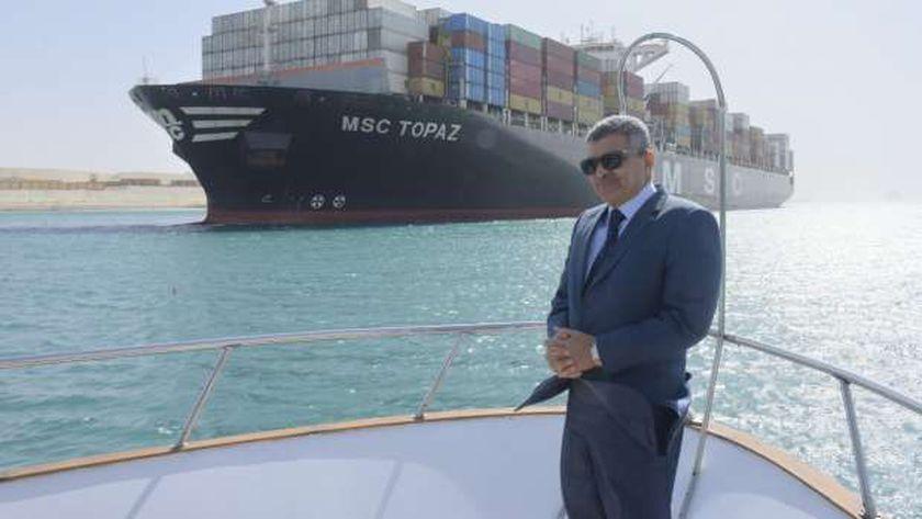 رئيس هيئة قناة السويس الجديدة