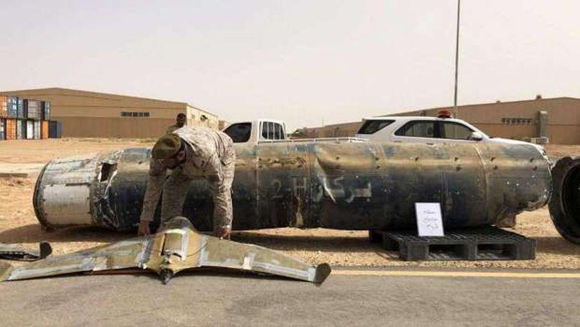 طائرة مسيرة بأيدي الحوثيين