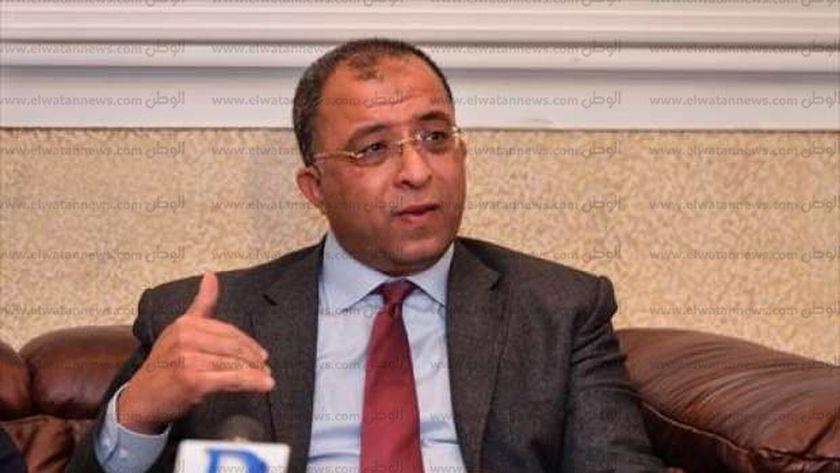 د. أشرف العربي وزير التخطيط والمتابعة والإصلاح الإداري