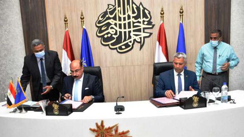 توقيع برتوكول التعاون بين محافظة أسوان وهيئة تنمية الصعيد