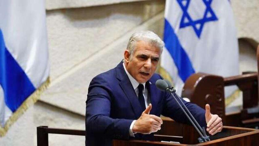 وزير خارجية الاحتلال الإسرائيلي يائير لابيد