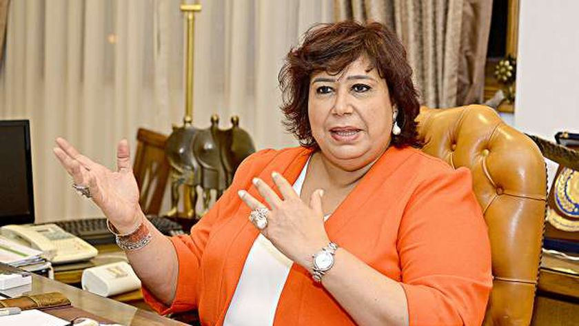 الدكتورة إيناس عبدالدايم، وزيرة الثقافة