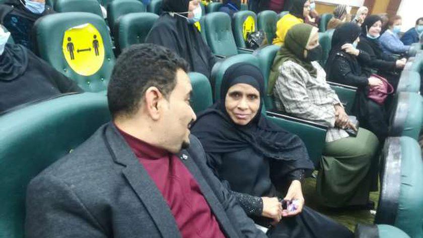 الحاجة سميرة في القاهرة الام المثالية بمحافظة قنا