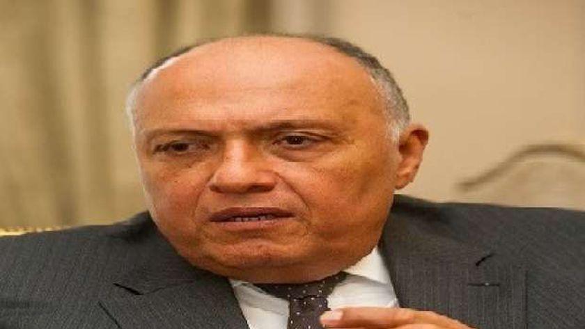 وزير الخارجية-سامح شكري-صورة أرشيفية
