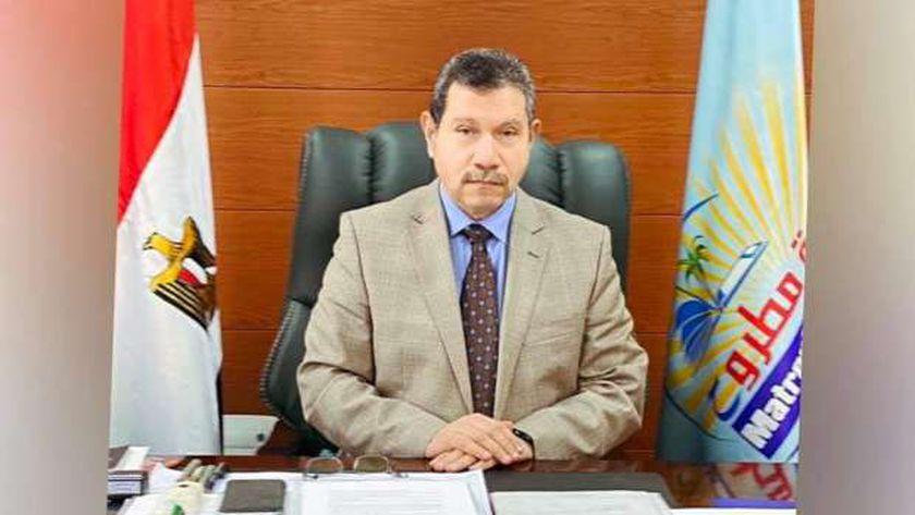 الدكتور مصطفى النجار رئيس جامعة مطروح