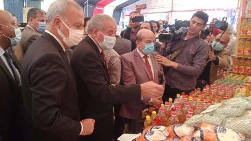 وزير التموين في معرض اهلا رمضان بالقليوبية