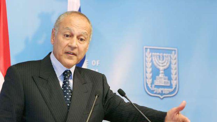 أحمد أبو الغيط.. أمين عام جامعة الدول العربية
