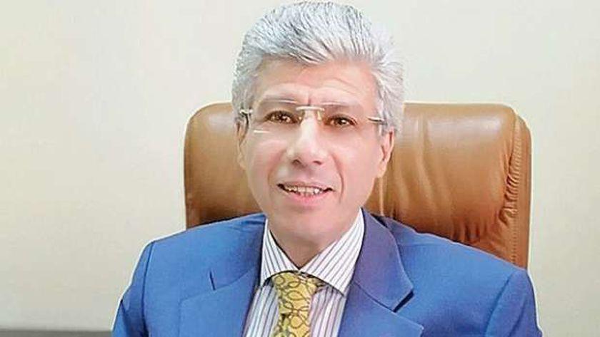 المستشار أيمن عبدالحكم رئيس محكمة جنايات الجيزة وأكتوبر