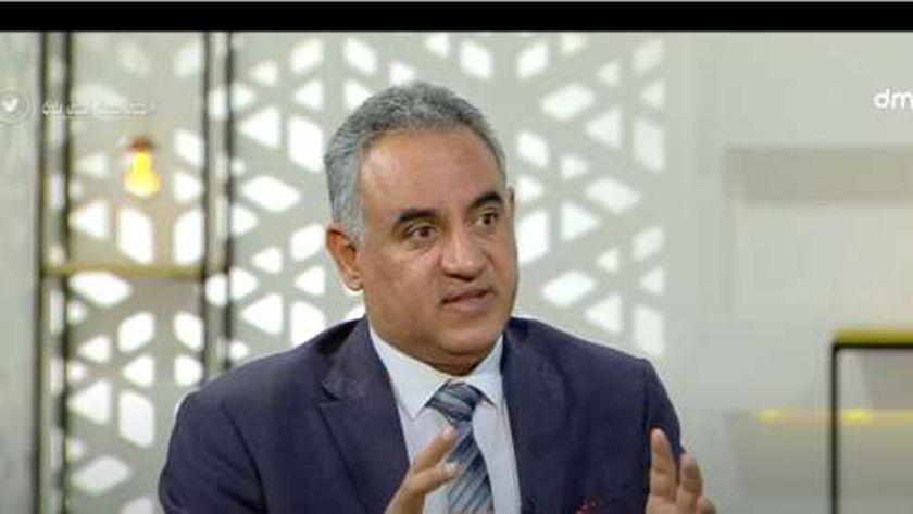 الدكتور خالد عبدالفتاح مستشار وزارة التضامن