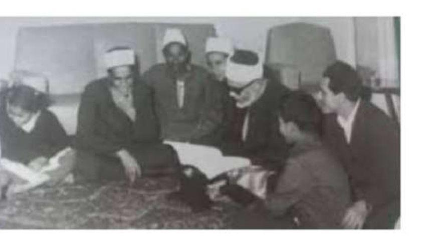 الشيخ محمود الحصري وأحفاده
