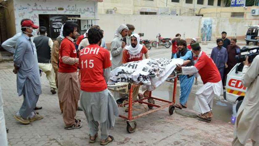 حادث سابق فى باكستان
