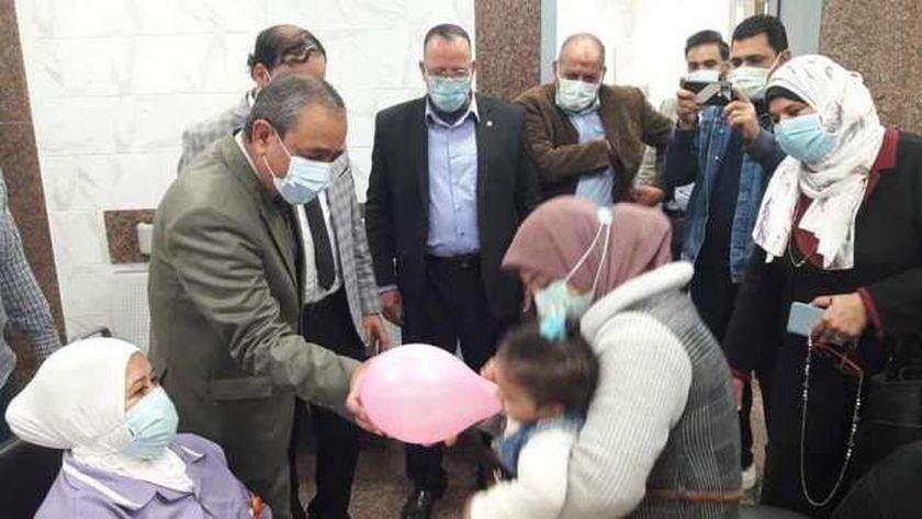 بالبلابين.. انطلاق حملة التطعيم ضد شلل الأطفال بالإسماعيلية