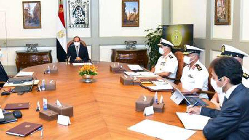 السيسي يطلع على مشروعات تطوير وحماية الشواطئ الساحلية المصرية اليوم خلال اجتماعه