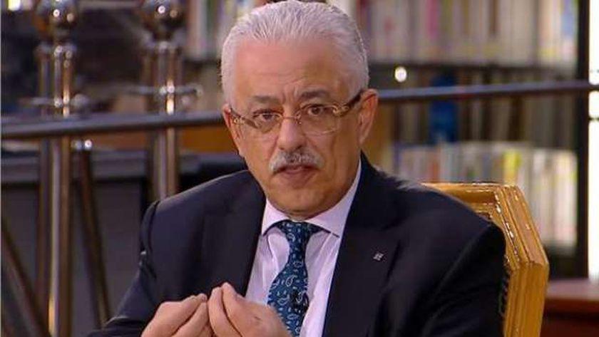 الدكتور طارق شوقي، وزير التربية والتعليم