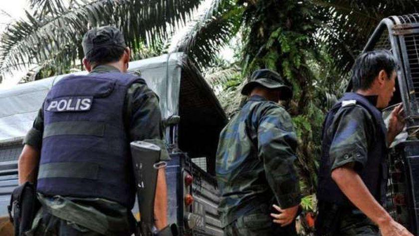 قوات الأمن في ماليزيا