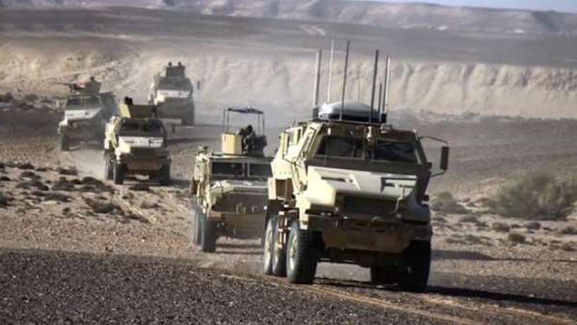 مكافحة الإرهاب في سيناء