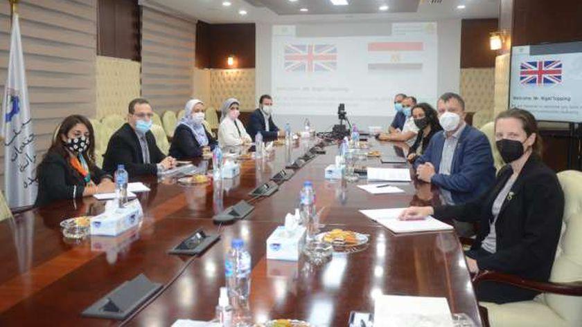 «الإسكان» تناقش التعاون في قضايا «تغير المناخ» مع مسؤول بريطاني