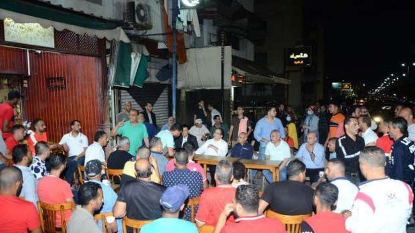 مرشحا مستقبل وطن ببورسعيد