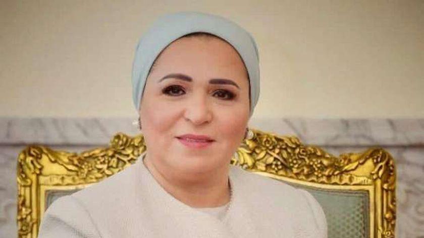 السيدة انتصار السيسي، قرينة الرئيس عبدالفتاح السيسي