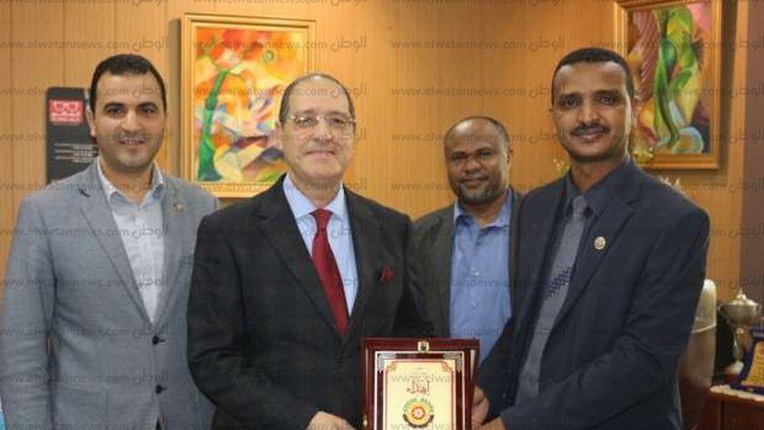 زيارة الوفد السوداني للمنصورة
