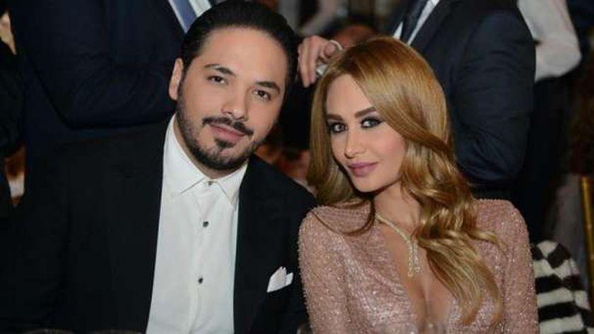 رامي عياش و زوجته داليدا