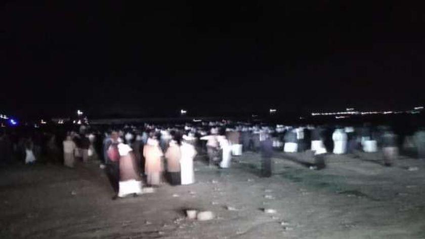 اخر ضحايا حادث المركب الغارق في بحيرة مريوط غرب الإسكندرية