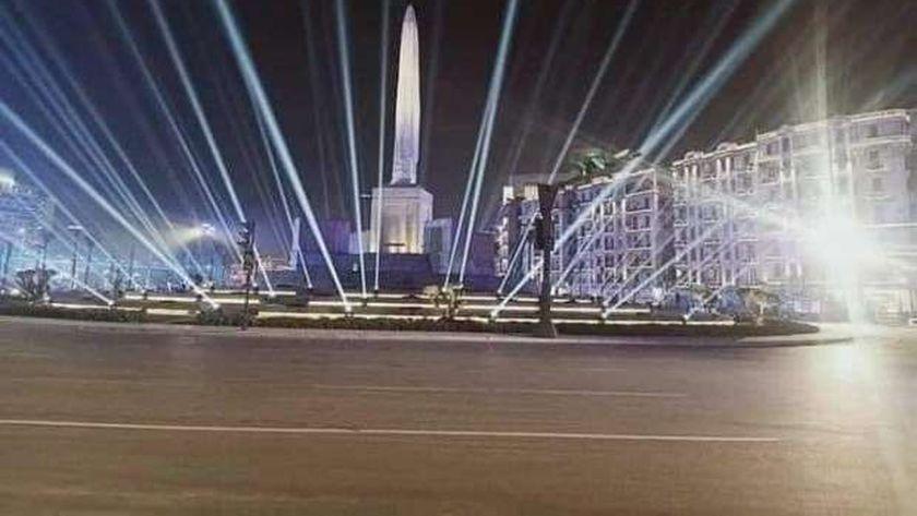 ميدان التحرير بعد إضافة الكباش