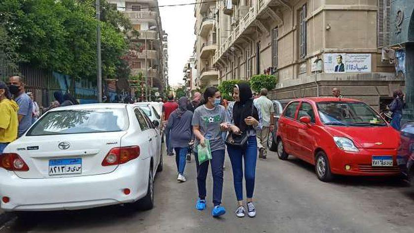طالبات الثانوية العامة في الإسكندرية