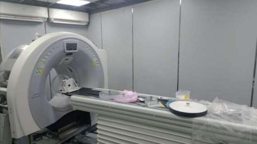 جهاز الأشعة المقطعية ببنها الجامعي