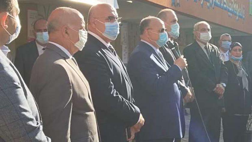 جانب من جولة محافظ القاهرة
