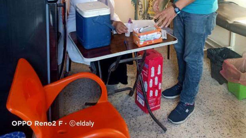 مواعيد عمل مراكز تطعيم كورونا في محافظة الغربية وطوارىء أقسام العزل
