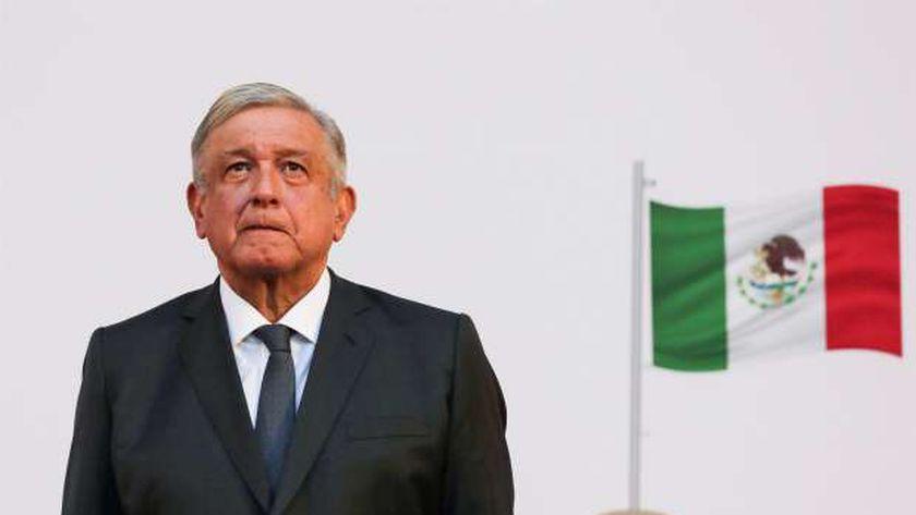 رئيس المكسيك أندريس مانويل لوبيز أوبرادور