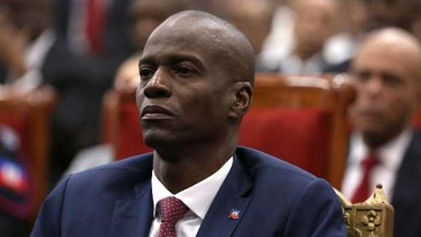 رئيس هايتي السابق جوفينيل مويز