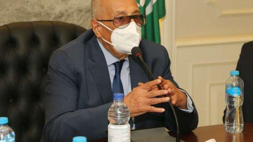 المستشار بهاء الدين أبو شقة، رئيس حزب الوفد ووكيل أول مجلس الشيوخ