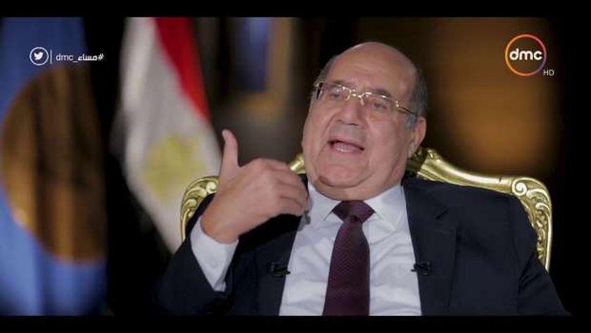المستشار عبد الوهاب عبد الرازق، رئيس مجلس الشيوخ