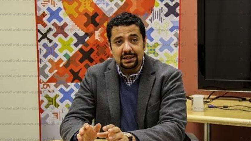 الدكتور أحمد خميس، مدير برنامج الأمم المتحدة المشترك لمكافحة الإيدز فى مصر
