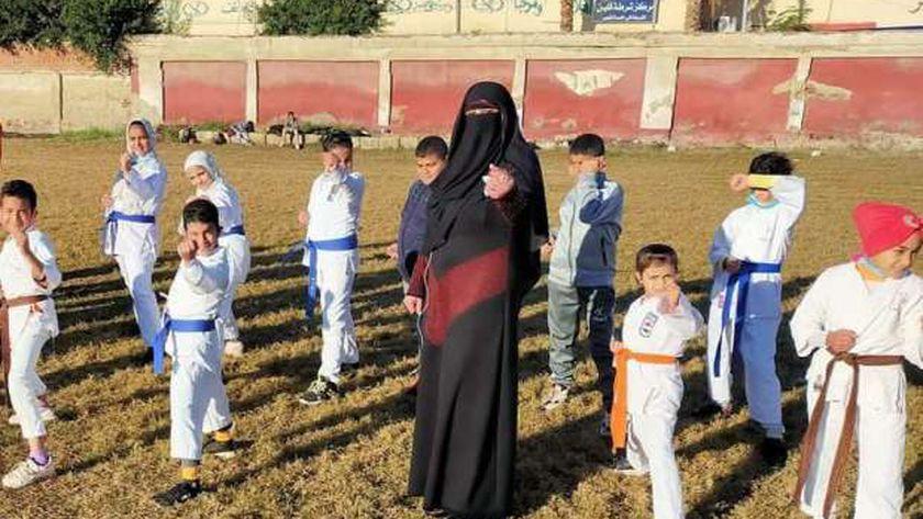 شباب وفتيات كفر الشيخ يشاركون في مبادرة« العب رياضتك وزود مناعتك»