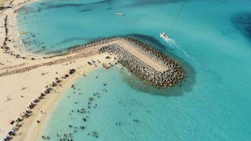 أحد مشروعات «الرى» لحماية الشواطئ