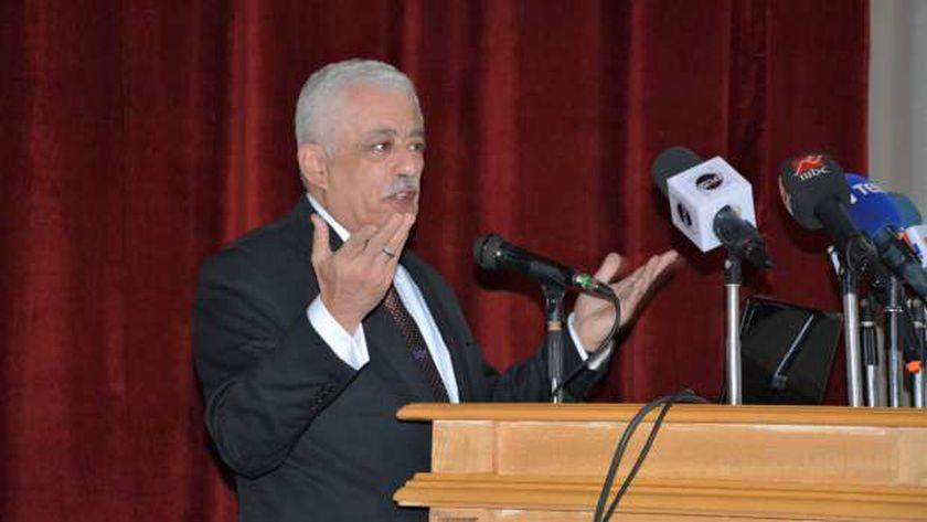 الدكتور طارق شوقى وزير التربية والتعليم.. صورة أرشيفية