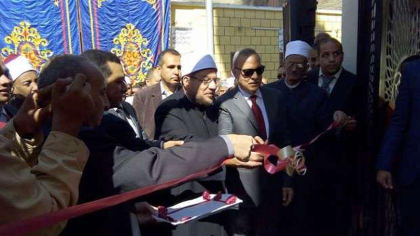 افتتاح مسجد القارئ  الشيخ عبد الباسط عبد الصمد بالأقصر بعد تطويره
