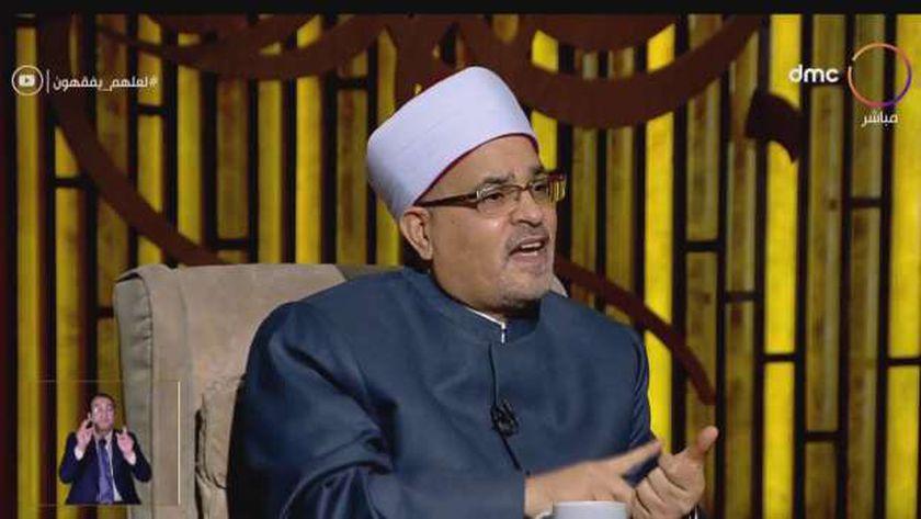 الدكتور محمد سالم أبو عاصي، عميد كلية الدراسات العليا الأسبق بجامعة الأزهر الشريف