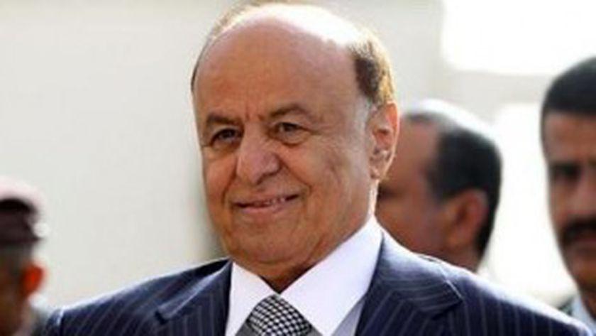 الرئيس اليمنى عبد ربه منصور