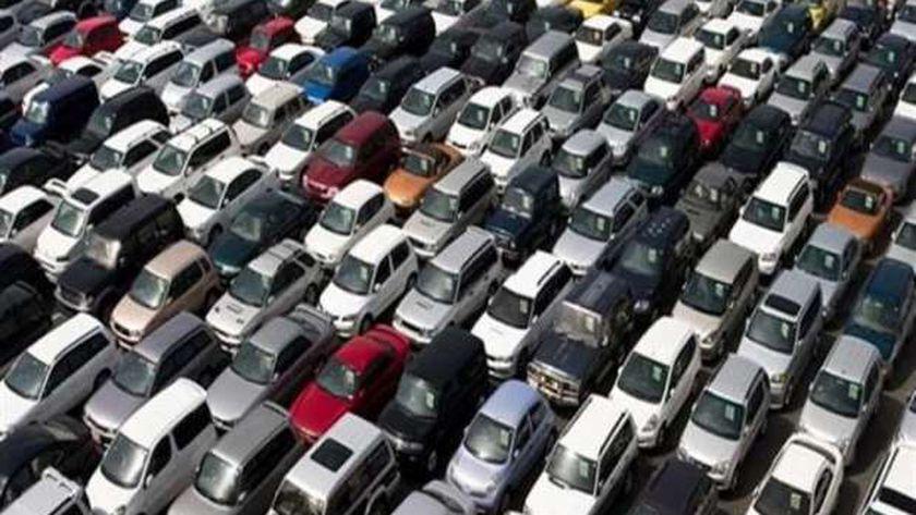 مزاد بيع السيارات