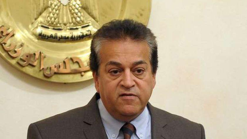 الدكتور خالد عبدالغفار وزير التعليم العالي