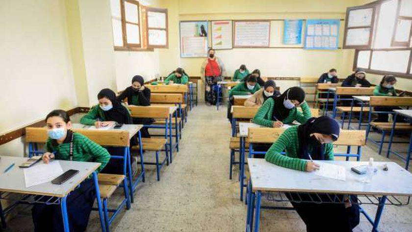 جانب من الامتحانات في ظل ازمة كورونا