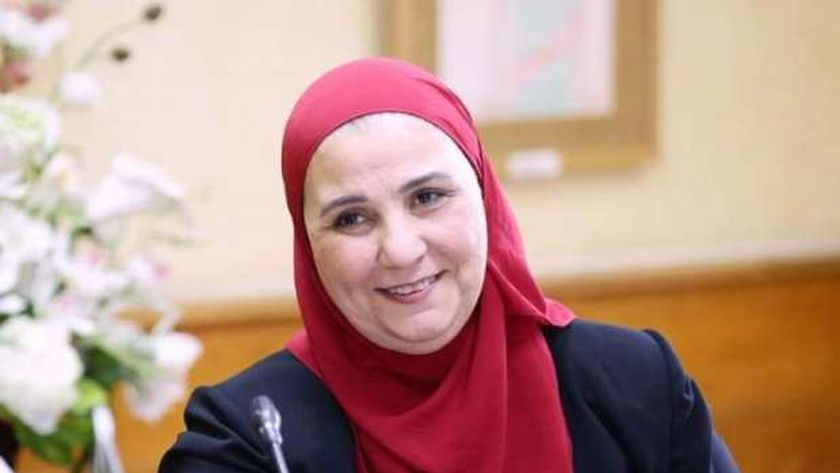 الدكتورة نيفين القباج وزيرة التضامن الاجتماعي