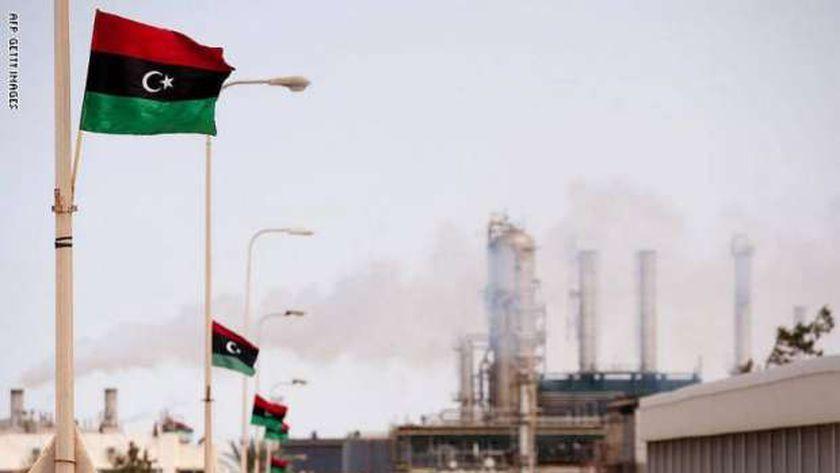 حقل نفط في ليبيا